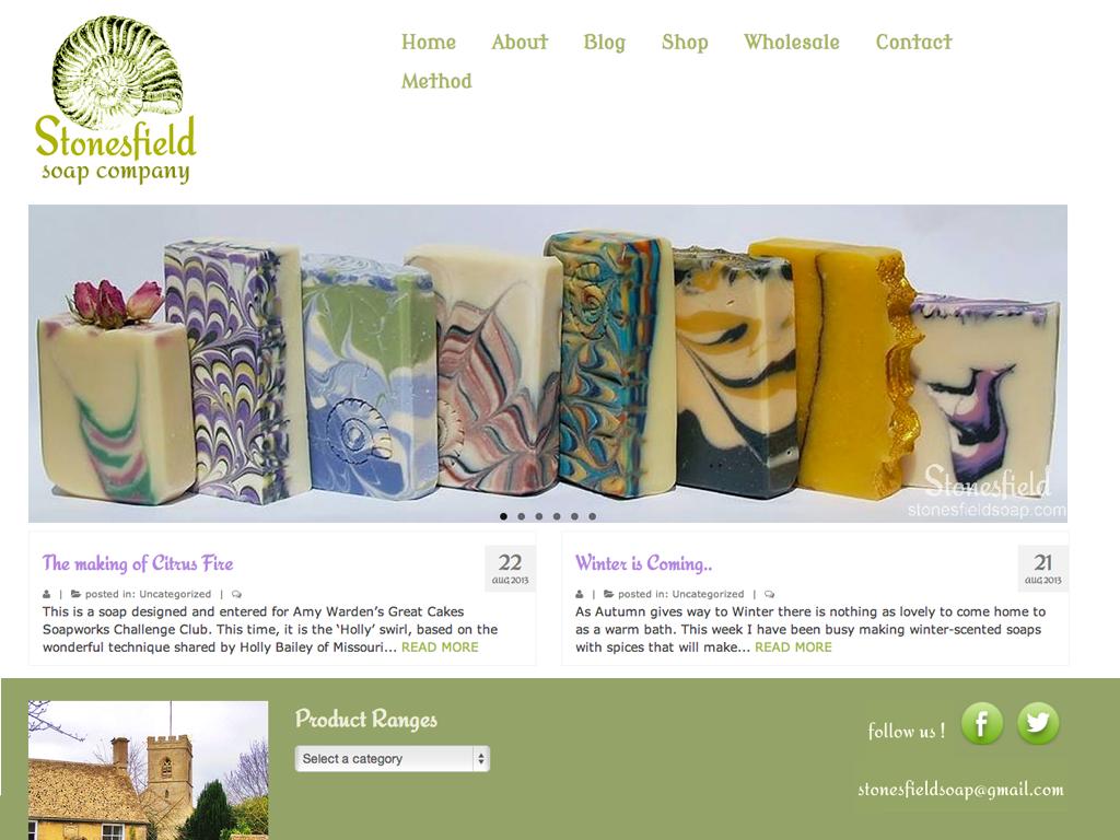 Branding + ecommerce website.